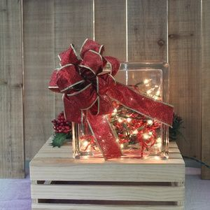 Other - Christmas Holiday Home Table Decor Light Block